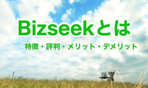 Bizseek(ビズシーク)とは|特徴・評判・メリット・デメリット