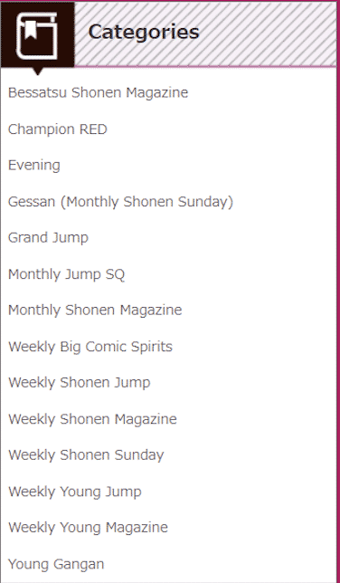 Manga Netabareにある雑誌は?
