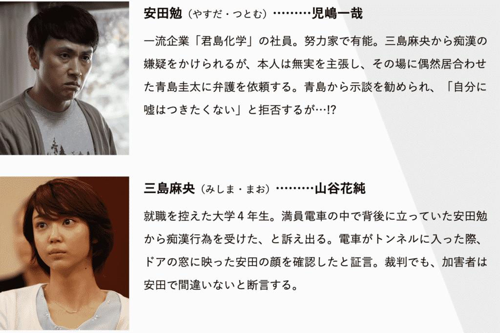 『リーガルV〜元弁護士・小鳥遊翔子〜』第1話の見逃し無料動画の視聴方法
